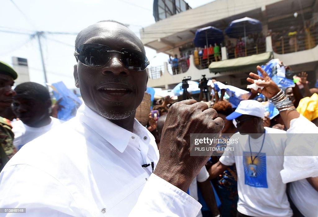BENIN-VOTE-CAMPAIGN : News Photo