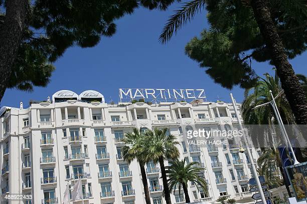 A picture taken on May 10 2010 shows the Martinez Hotel in Cannes on French riviera The Cannes film festival is a launchpad for world film and this...