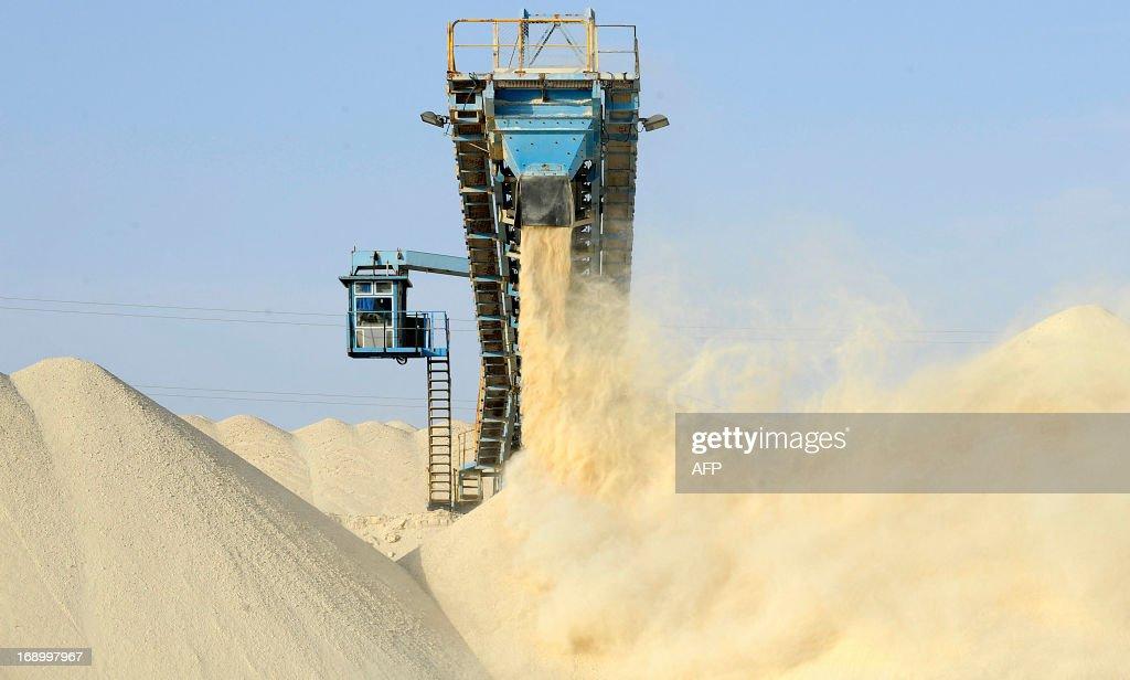 MOROCCO-INDUSTRY-SAHARA-OCP-PHOSPHATE : News Photo