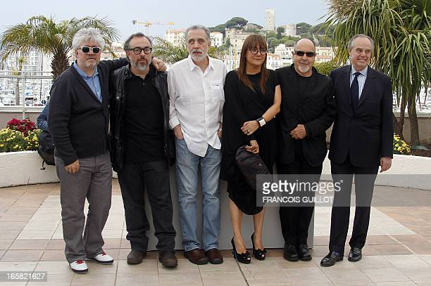 A picture taken on May 15 2010 shows Spanish film director Bigas Luna posing during a photocall in homage to Spanish cinema at the 63rd Cannes Film...