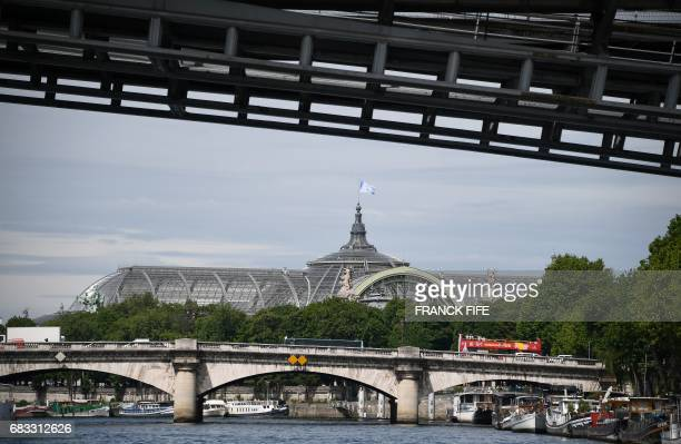 A picture taken on May 15 2017 shows the Grand Palais a proposed venue for the 2024 Olympic Games taekwondo and fencing events as the IOC Evaluation...