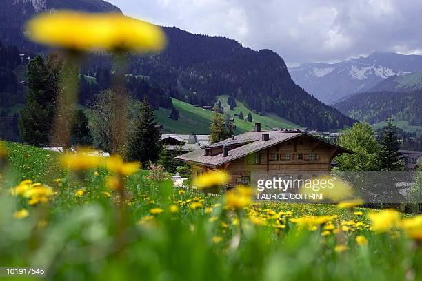 Picture taken on May 18 2010 shows Oscarwinning filmmaker Roman Polanski's chalet called ''Milky Way'' in the western Swiss ski resort of Gstaad...