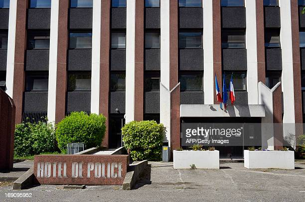Picture taken on May 20 2013 of the facade of police station of Lyon central eastern France where a 48yearold divorced British man who confessed...