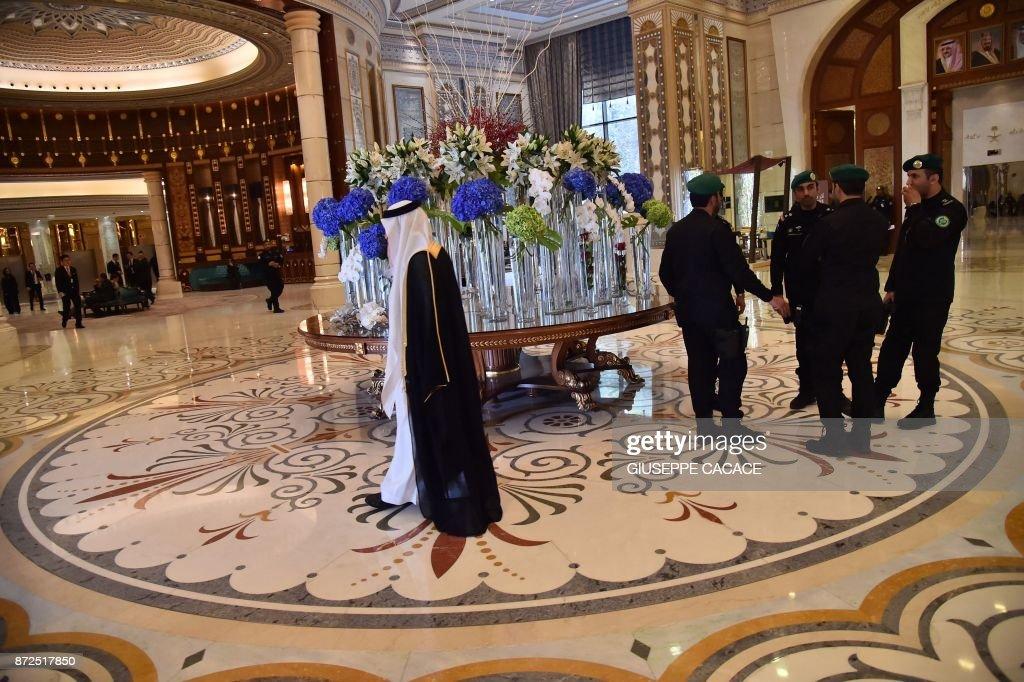 SAUDI-POLITICS-ROYALS-HOTEL : News Photo