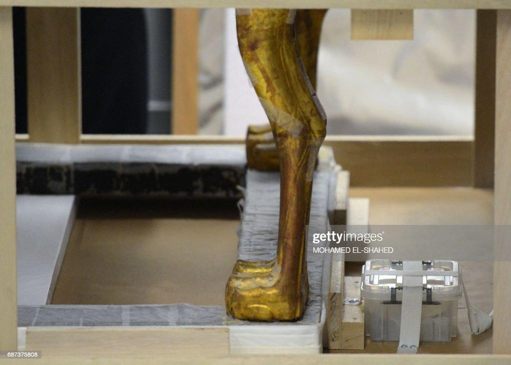 EGYPT-ARCHAEOLOGY-MUSEUM : News Photo