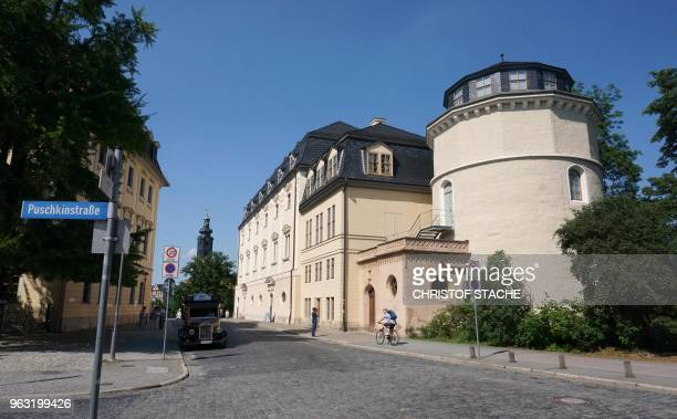 A picture taken on May 25 2018 shows a view of Herzogin Anna Amalia library in Weimar Germany