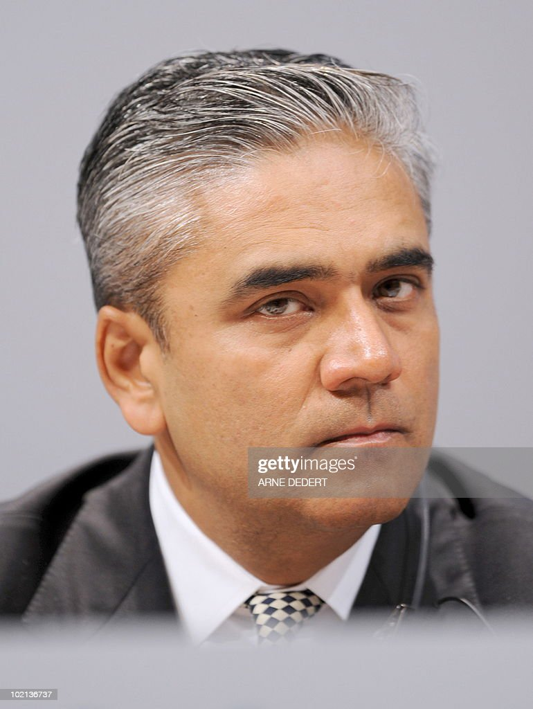FILES - A picture taken on May 26, 2009 shows Anshu Jain, Head of Global Markets of Germany's biggest bank Deutsche Bank. The bank announced on June 15, 2010 that Indian Anshu Jain will become the sole head of the Deutsche Bank's corporate and investment bank from October 2010, placing him in a good position to potentially take over from CEO Josef Ackermann.