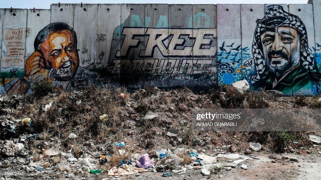 PALESTINIAN-ISRAEL-CONFLICT-PRISONERS : Nachrichtenfoto