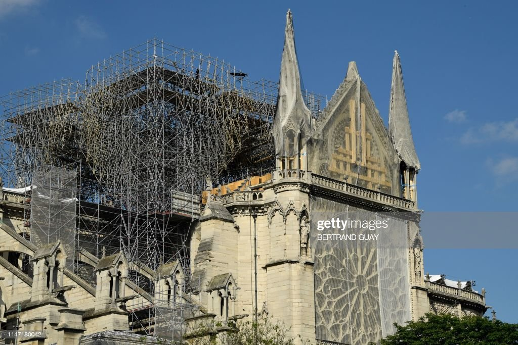 FRANCE-NOTREDAME-FIRE-FEATURE : News Photo
