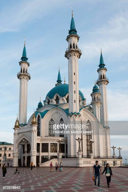 A picture taken on May 4 2015 shows the Kul Sharif Mosque in the Russian city of Kazan AFP PHOTO / FRANCOIS XAVIER MARIT / AFP PHOTO / FRANCOIS...