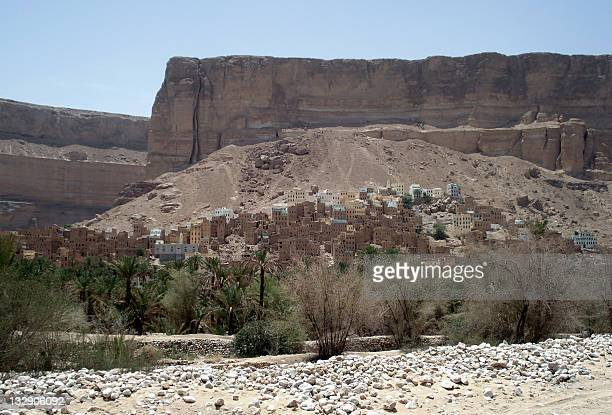 A picture taken on May 9 2011 shows a general view of Rabat Ba Ashan in the southern Yemeni province of Hadramawt the ancestral hometown of AlQaeda...