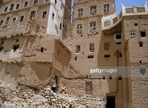 A picture taken on May 9 2011 shows what is believed to be the building where the ancestral family of AlQaeda network's founder Osama bin Laden lived...