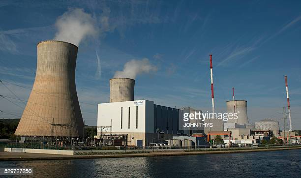 A picture taken on May 9 shows the nuclear Belgian power plant of Tihange near Huy The Dutch government has ordered 15 million iodine pills to...