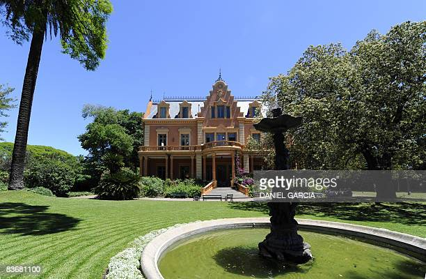 Picture taken on November 13 of Villa Ocampo a mansion built in 1891 combining influences of British and French architecture in San Isidro about 30...