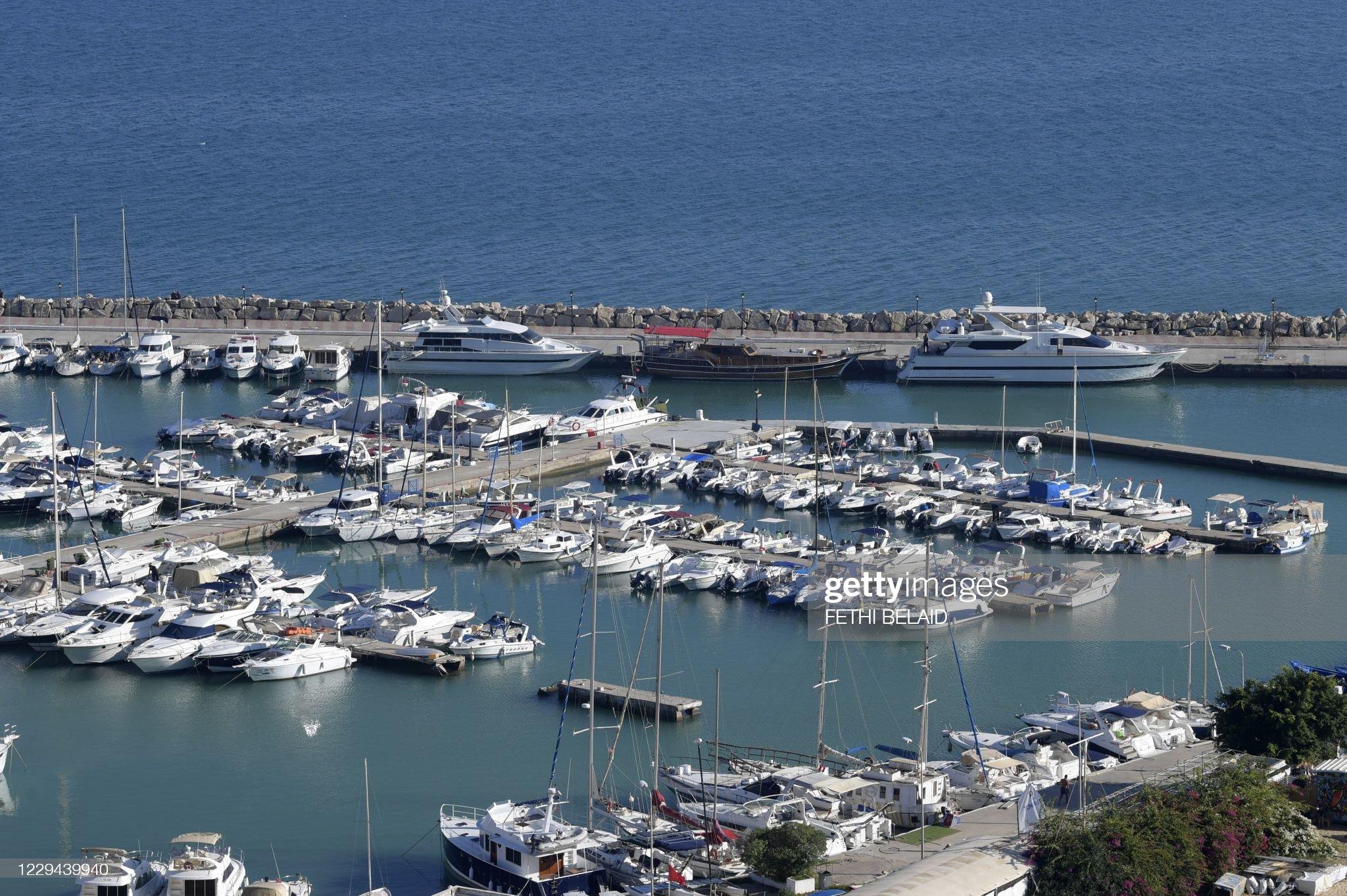 TUNISIA-TOURISM-MARINA : Foto di attualità