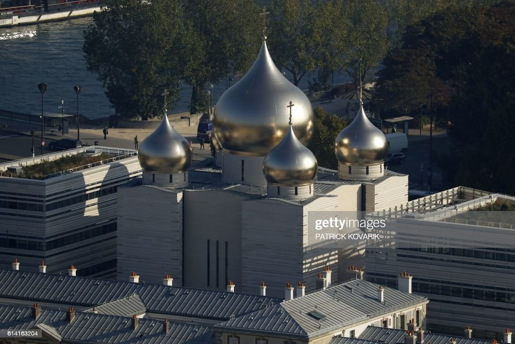 FRANCE-RUSSIA-RELIGION-CHURCH : News Photo