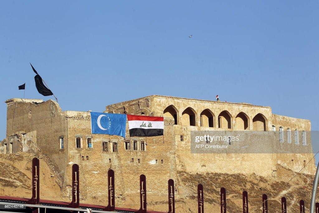 IRAQ-CONFLICT-KURDS-OIL : News Photo