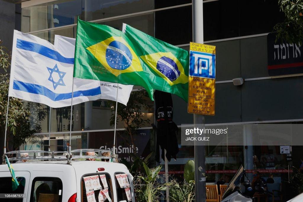 ISRAEL-BRAZIL-POLITICS-VOTE : News Photo