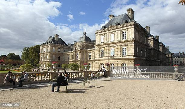 Picture taken on September 14 2011 in Paris shows the Palais du Luxembourg in Paris where the French Senate is located The next senatorial elections...