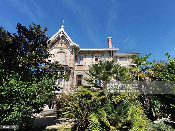 FRAYSSE A picture taken on September 15 2010 in the French southwestern city of Arcachon shows the 'Sherazade' villa which is part of the seaside...