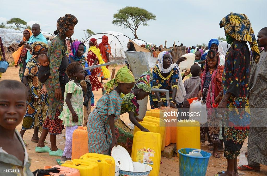 NIGER-NIGARIA-UNREST-ISLAMISTS-REFUGEE : News Photo