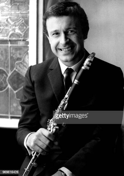 Picture taken on September 1965 showing French jazz composer and musician Michel Portal