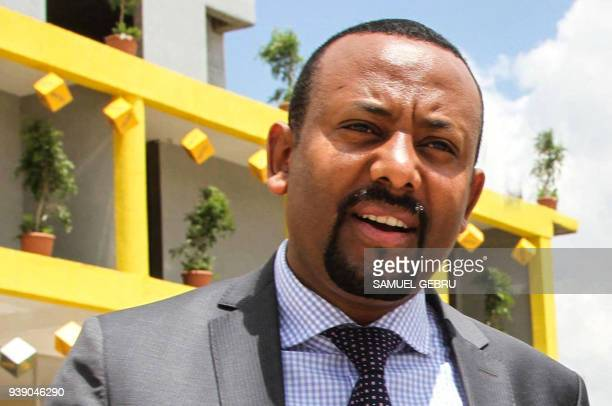 Picture taken on September 26 shows Abiy Ahmed, Chairman of Oromo Peoples' Democratic Organization . Ethiopia's ruling coalition on March 27 elected...