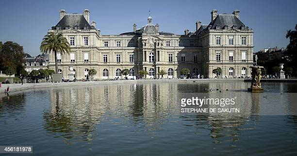 A picture taken on September 27 2014 shows the Palais du Luxembourg in Paris where the French Senate is located Just three years after France's upper...