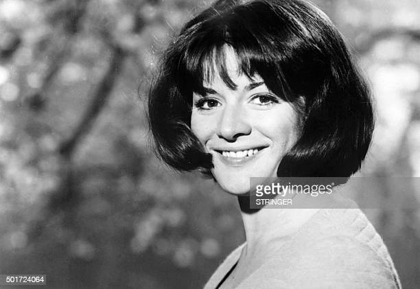 Picture taken on September 3 1967 shows French Radio journalist AnneMarie Peysson posing in Paris AnneMarie Peysson died on April 14 2015 at the age...