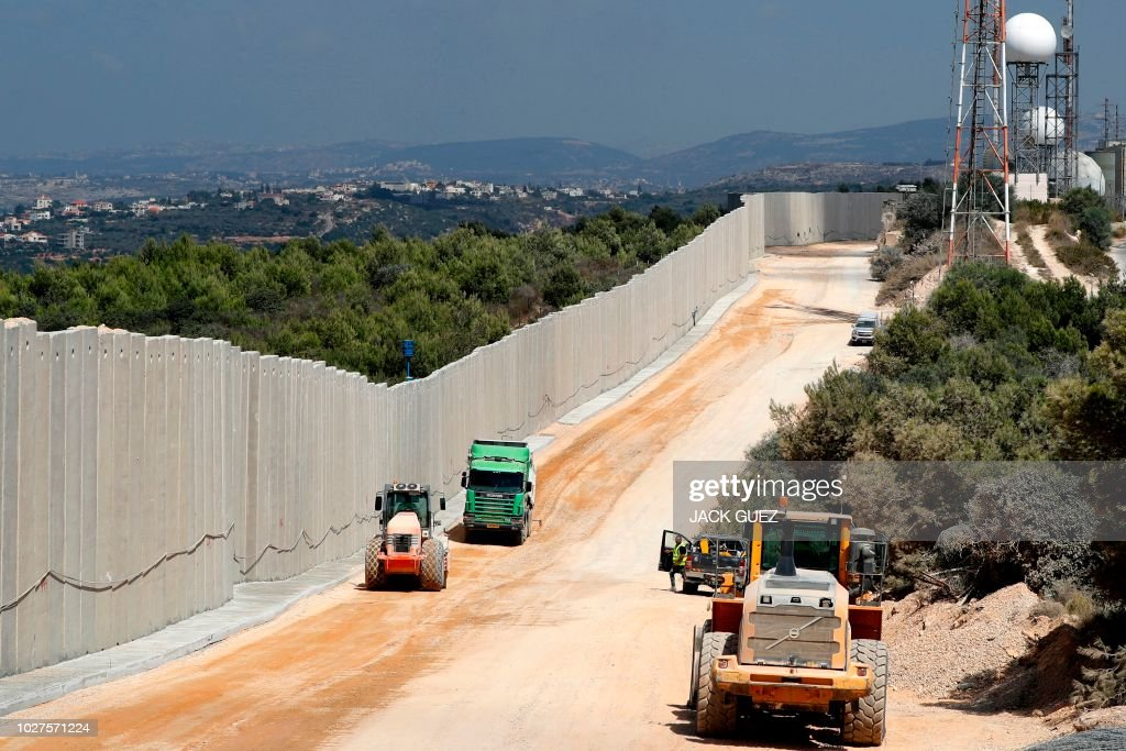 ISRAEL-LEBANON-BORDER : News Photo