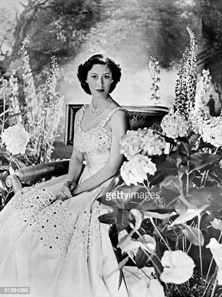Picture taken probably in 1940s in London of Princess Margaret the youngest sister of future Britain's Queen Elizabeth II Princess Margaret married...