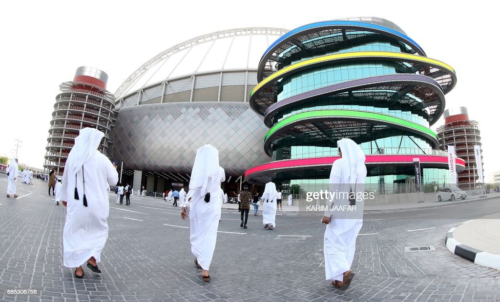 Official Opening of the First FIFA World Cup 2022 Stadium