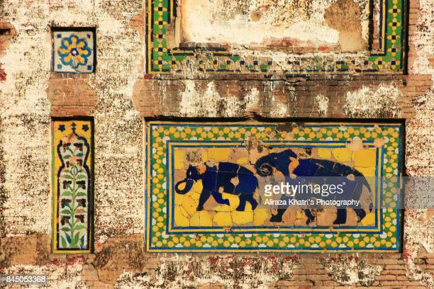 Picture Wall Lahore, Elegence of Mughal's art in South Asia.
