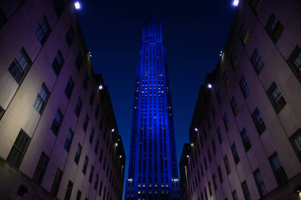 NY: 30 Rock - Blue Lights
