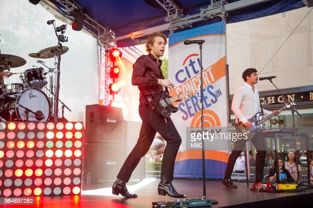 Seconds Of Summer on Friday, June 22, 2018 --