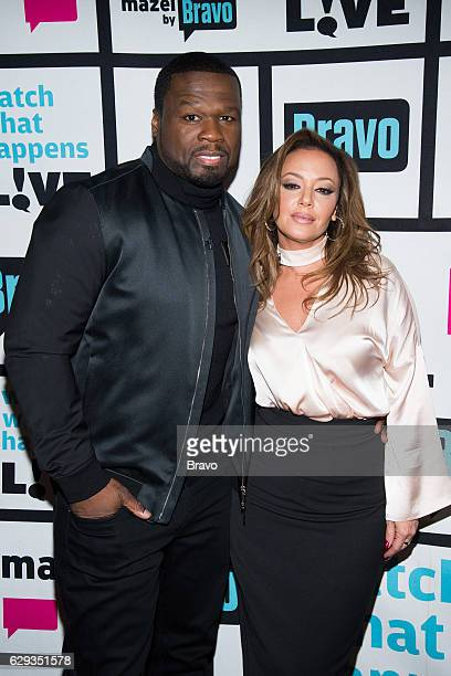 50 Cent and Leah Remini