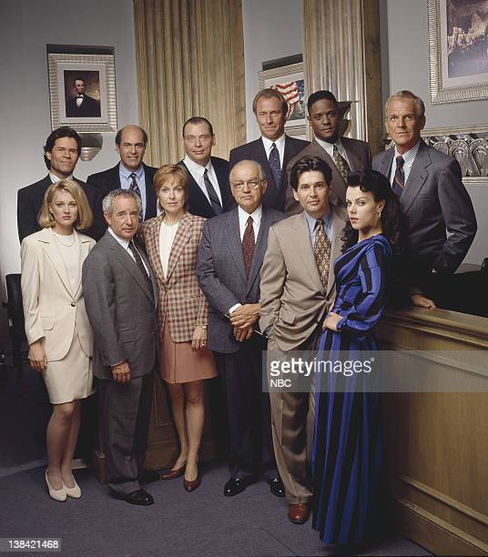 A Martinez as Daniel Morales Alan Rachins as Douglas Brackman Jr Larry Drake as Benny Stulwicz Corbin Bernsen as Arnie Becker Blair Underwood as...