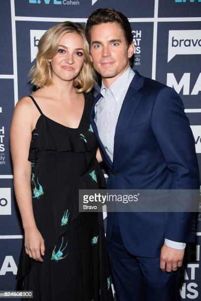 Abby Elliott and Matt Bomer