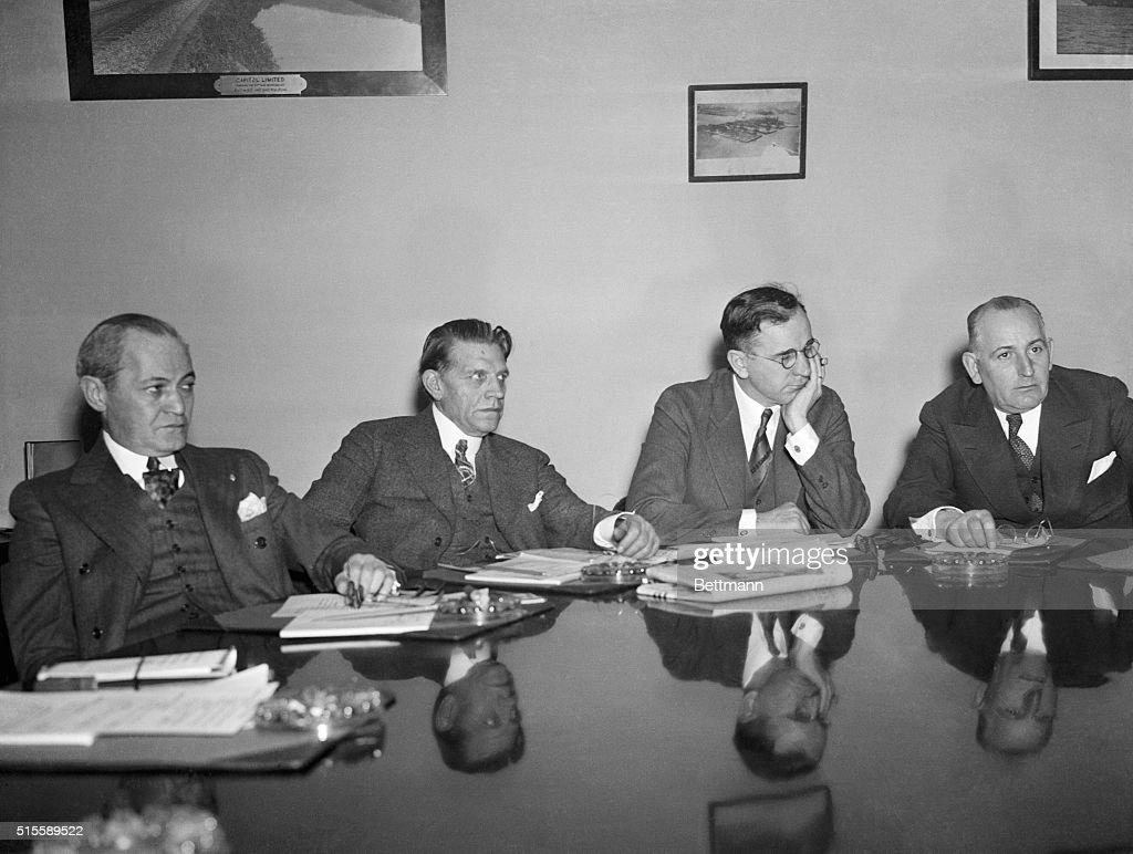 McCormack-Dickstein Committee Hearing : News Photo