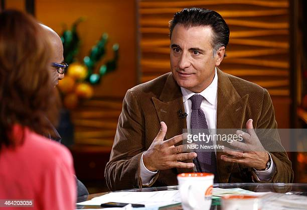 Actor Andy Garcia appears on NBC News' 'Today' show on January 21 2014