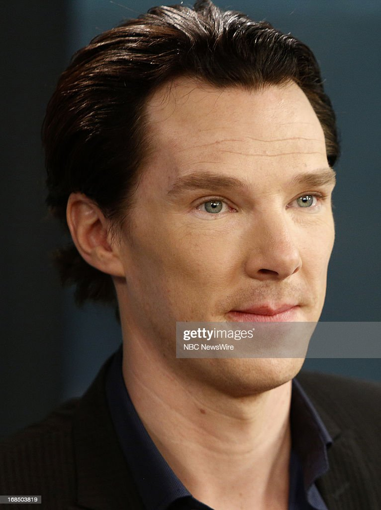 Actor Benedict Cumberbatch appears on NBC News' 'Today' show on May 10, 2013 --