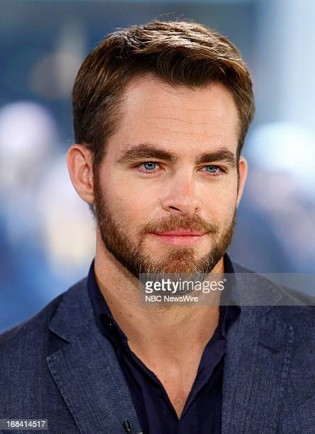 Actor Chris Pine appears on NBC News' Today show on May 9 2013