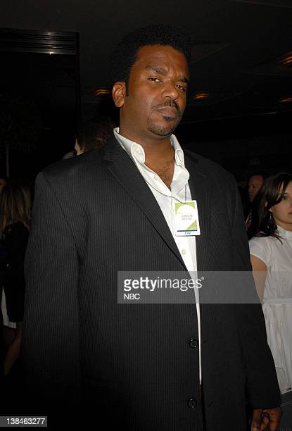 Actor Craig Robinsono of The Office mingles in the green room at the 2007 NBC Upfront event on May 14 2007