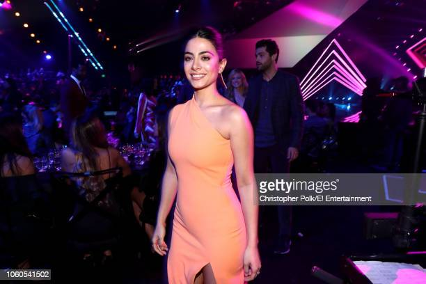 Actor Emeraude Toubia attends the 2018 E People's Choice Awards held at the Barker Hangar on November 11 2018 NUP_185072