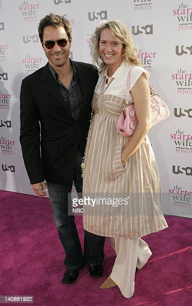 Actor Eric McCormack with wife Janet Holden arrive at The Starter Wife premiere party on May 22 2007 Starter Wife airs Thursdays on USA Network...