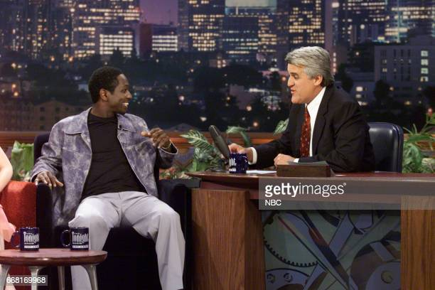 Actor Guy Torry during an interview with Host Jay Leno on June 6th 2001