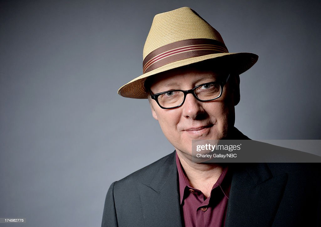 Actor James Spader poses for a portrait during NBC 2013 Summer Press Tour at The Beverly Hilton Hotel on July 27, 2013 in Beverly Hills, California.
