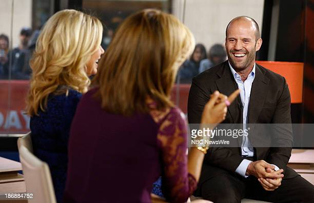 Actor Jason Statham appears on NBC News' 'Today' show on November 4 2013