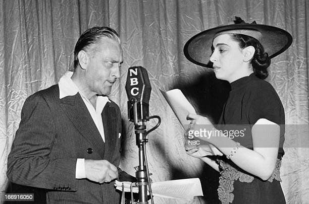 Actor John Barrymore with wife actress Elaine Barrie in 1939