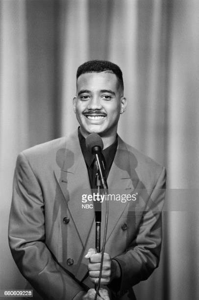 Actor John Henton performs on June 5 1991